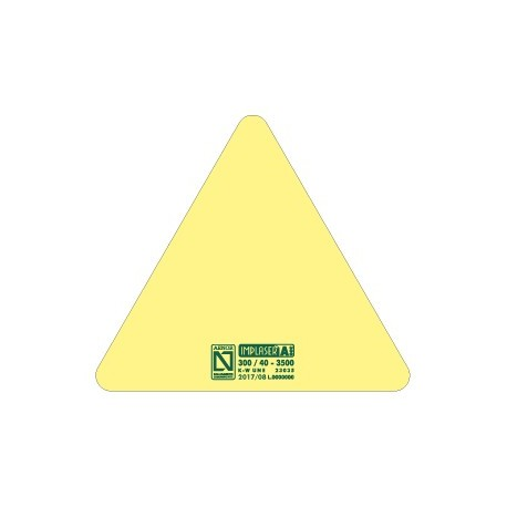 Huellas antideslizamiento 3M Triangular