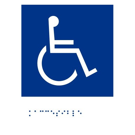 Accesible - Con escritura Braille