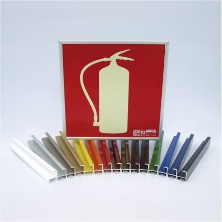 Marcos estándar color aluminio
