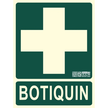 Señal de Botiquín Clase B