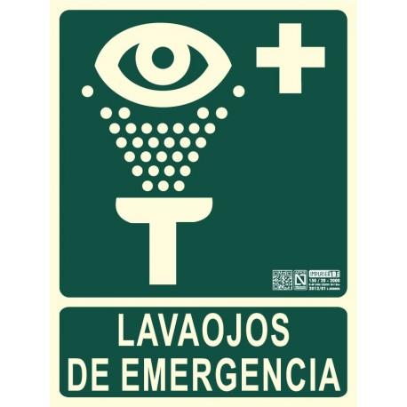 Señal Lavaojos de Emergencia Clase B