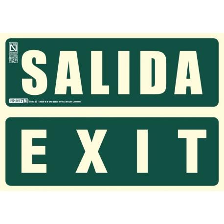 Señal Salida / Exit Clase B