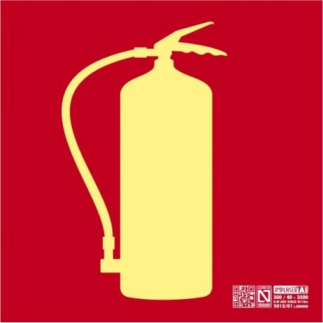 Señal Extintor Clase A