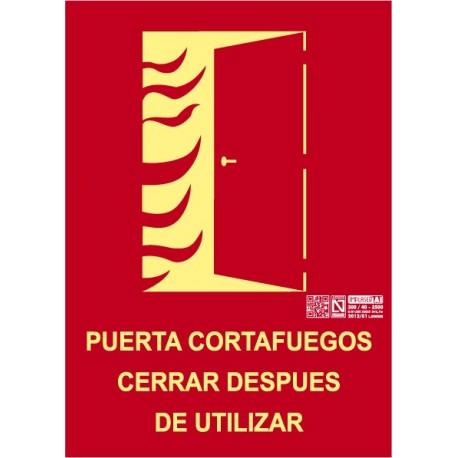 Puerta cortafuegos Clase A
