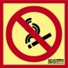 Prohibido fumar Clase A CTE