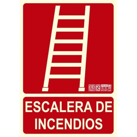 Escalera de incendios Clase B