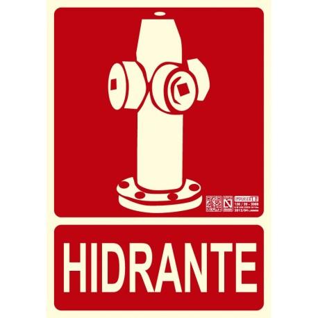 Señal Hidrante Clase B