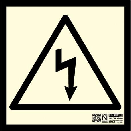 Señalización Riesgo eléctrico Clase B
