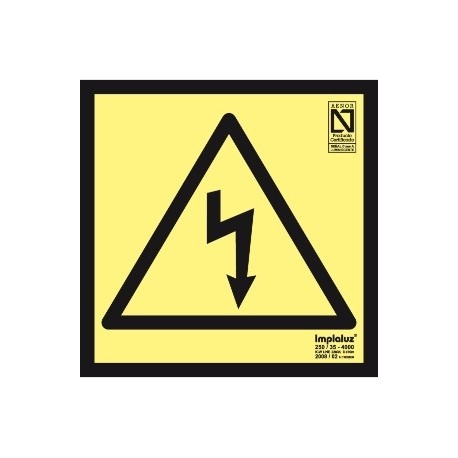 Señal riesgo eléctrico Clase A