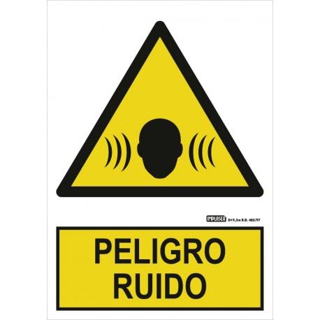 Señal Peligro de ruido