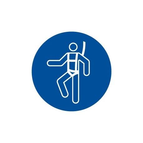 Pegatina señal uso obligatorio de cinturón